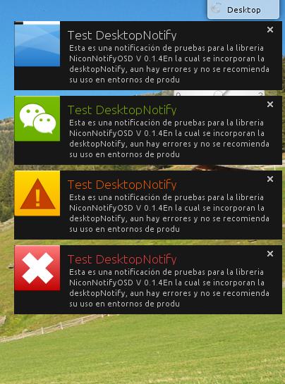 DektopNotify