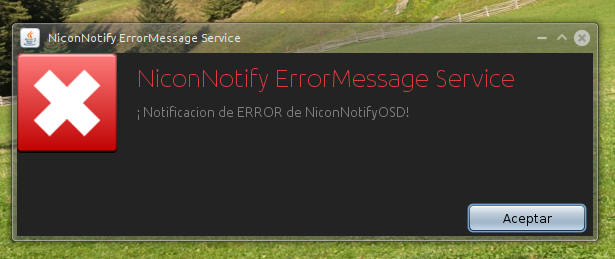 ErrorNotify